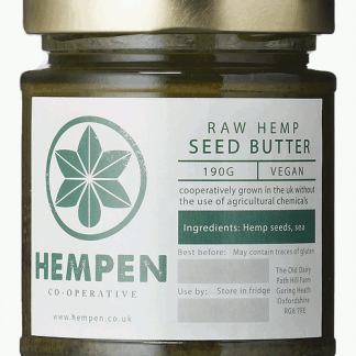 Hempen Raw Hemp Seed Butter - 190ml