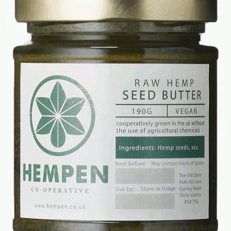 Hempen Raw Hemp Seed Butter - 190ml