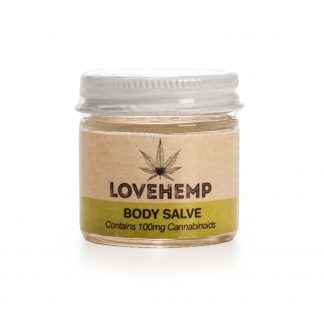 Love Hemp Hemp Extracted Body Salve 300mg CBD - 50ml - Natural