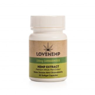 Love Hemp CBD Softgel Capsules - Natural
