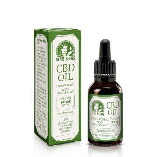Sensi Seeds Hemp CBD Oil 3% CBD (900mg/30 ml)