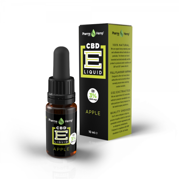 PharmaHemp CBD E-Liquid 3% - 10ml