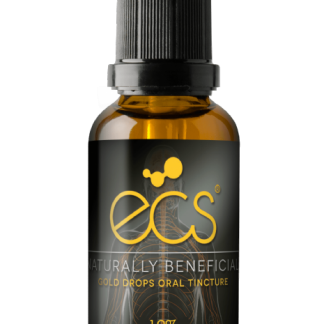 ECS Gold Drops CBD/CBG 12% - 30 ml