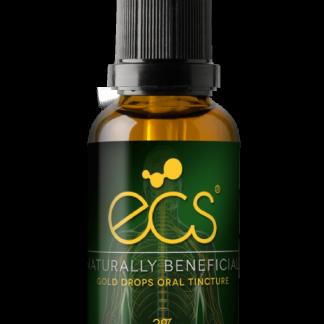 ECS Gold Drops CBD/CBG 3% - 30 ml