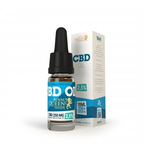 Royal Queen Seeds CBD Oil 2.5%